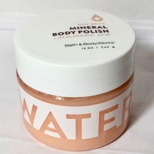 ROSE WATER Hyaluronic Acid Mineral Body Polish